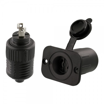 Scotty 12V Downrigger Plug & Receptacle