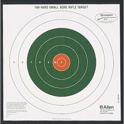 Remington Bullseye Sight-In Targets