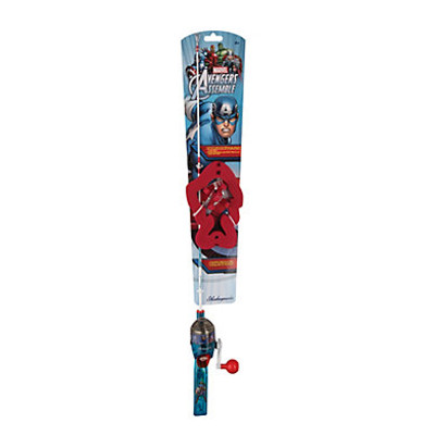 Shakespeare Marvel Captain America Lighted Spin Kit