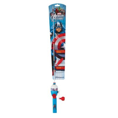 Shakespeare Marvel Captain America Spin Kit