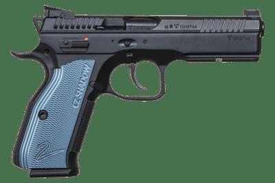 CZ 75 SP-01 Shadow 2, Blue. 9 mm