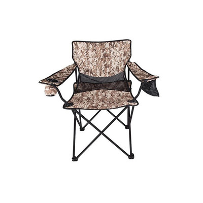 StanSport Oversized High Back Folding Camo Arm Chair
