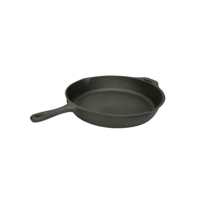 """StanSport Cast Iron Fry Pan, 13"""""""