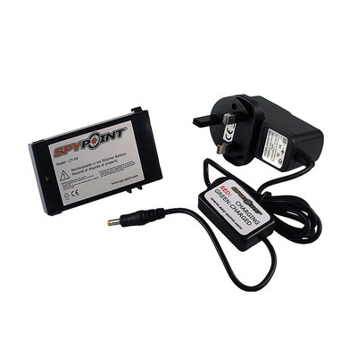 SpyPoint Lithium Battery Pack & Charger