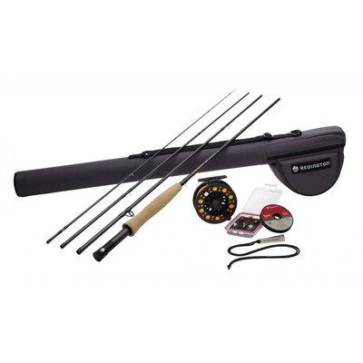 Redington Topo Fly Fishing Outfit, 9', 6 wt, 4 pc