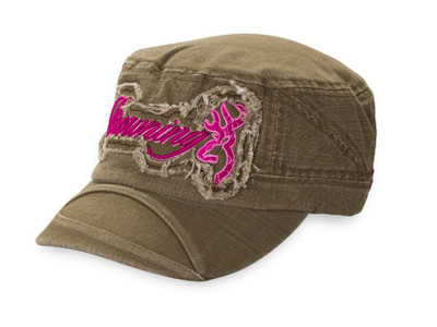 Browning For Her Geena Cap Olive/Magenta