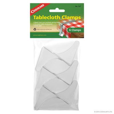 Coghlans Tablecloth Clamps, 6 pk