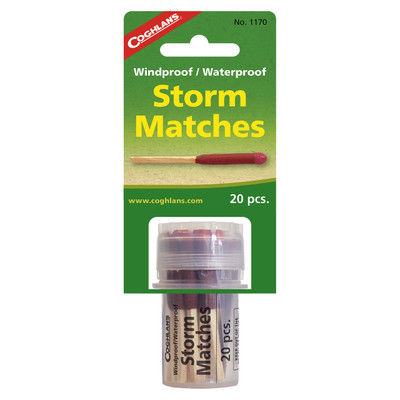 Coghlans Windproof/Waterproof Storm Matches