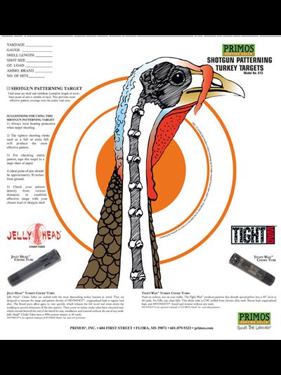 Primos Shotgun Turkey Target, 12 pk