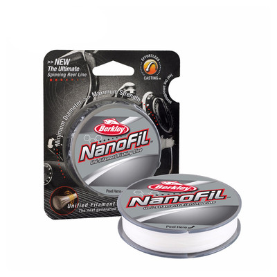 Berkley NanoFil, Clear Mist, 150 yd