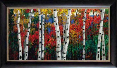Birch in Autumn Picture