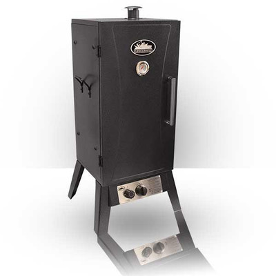 Smokehouse Gas Smoker Cooker, Silver