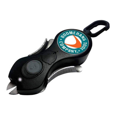 "Boomerang ""The Snip"" w/LED, Retractable, Black"