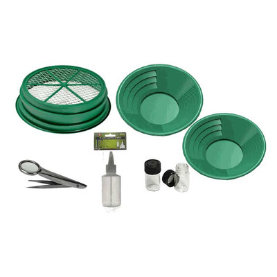 SE 7 Piece Gold Panning Kit