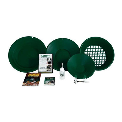 Garrett Deluxe Gravity Trap Gold Panning Kit