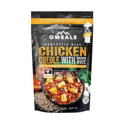 OMeals Chicken Creole With Brown Rice 227 g