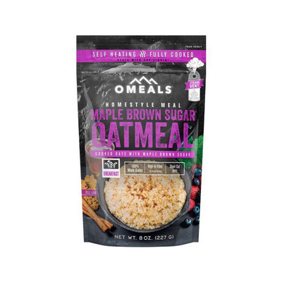 OMeals Maple Brown Sugar Oatmeal, 227 g