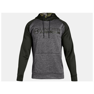 UA Storm Armour Fleece Stacked Hoodie - Front