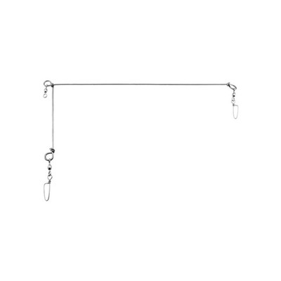 "Gibbs Hailbut Spreader Bar, Stainless, 20""x8"""