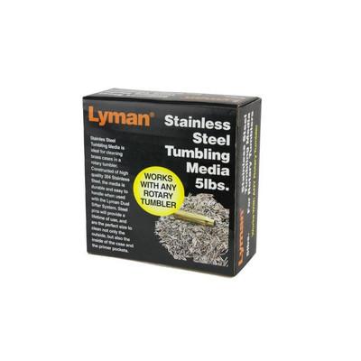 Lyman Stainless Steel Tumbling Media, 5 lbs