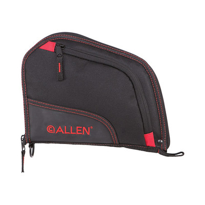Allen Auto-Fit Handgun Case, Black/Red