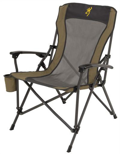 Browning Fireside Chair, Gold Buckmark
