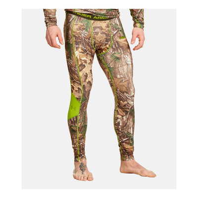 UA CGI Scent Control TEVO Men's Legging In Realtree Xtra