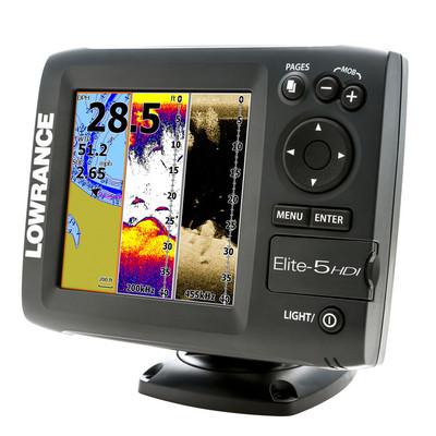 Lowrance Elite-5 HDI Fishfinder & GPS Chartplotter