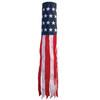 "Windsock - 40"" U.S. Stars and Stripes Embroidered"