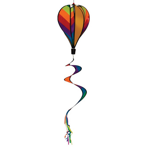 Hot Air Balloon - Rainbow Striped