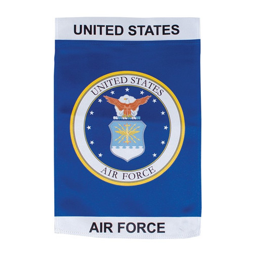 Garden Flag - Lustre - U.S. Air Force Emblem