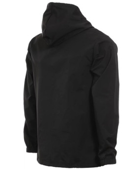e9542e635db3 Thrasher Flame Mag Coaches Jacket Black White Orange ...