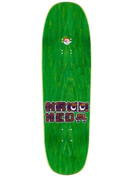 Krooked Drehobl Mystic II Skate Deck Assorted Stain 9.25