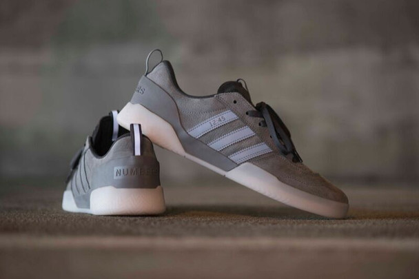 Adidas Numbers City Cup Limited Shoes Grey Carbon