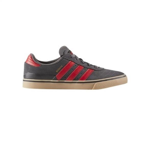 Adidas busenitz te avanzata pattinare scarpe grigio rosso gomma boardparadise
