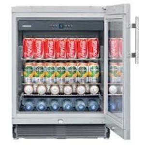 LIEBHERR UKES1752 131L GLASS-DOOR BEVERAGE CENTRE