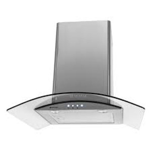 Parmco T411GLA-6L Curved Glass LED Canopy