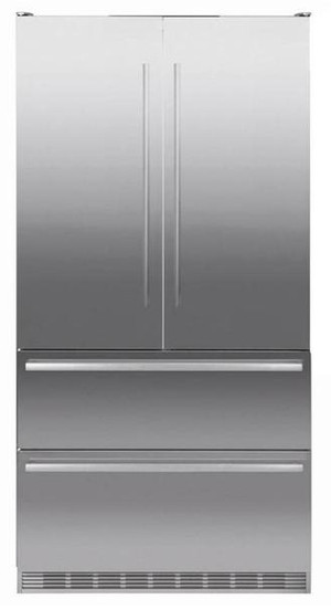 Liebherr 585L Double Door Integrated Fridge Freezer - Closed