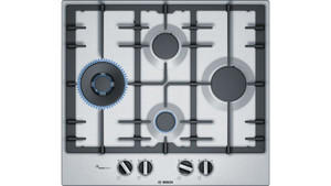Bosch PCI6A5B90A Stainless Steel Gas Cooktop