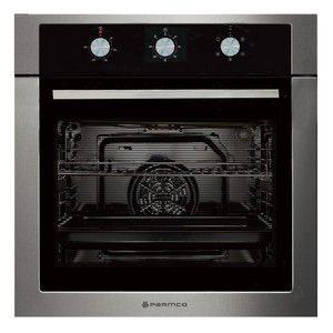 Parmco OX7-3-6S-5 Black and Stainless Multifunction Wall Oven