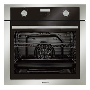 Parmco OX7-3-6S-8 Black and Stainless 76L Wall Oven