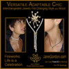 Versatile. Adaptable.  Chic.  Interchangeable Jewelry.