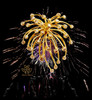 Fireworks on Night Sky Tank Top