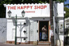 The Happy Shop. St Maartin.  Original Signed and Framed Photo by Jane A Gordon