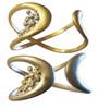 Infinity bracelets.