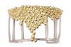 Abundance Cuff bracelet-diamonds in Sterling and 18K plate
