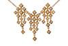 Pyramid Diamond Squares-Necklace-18K