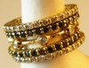 Straight Stacking Ring- 18K gold with diamonds