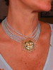 Someone to Watch Over Me- Swirley Sun Necklace-Sterling Silver