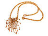 Superstar Necklace. Fireworks Pendant-Sterling Silver & diamonds with plate options